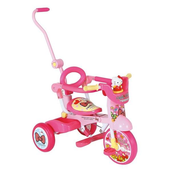My Pallas(マイパラス) 折りたたみ三輪車 ハローキティ オールインワン+F 子ども用 キティ三輪車※ラッピング不可