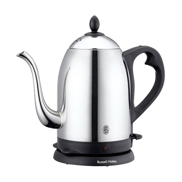 ラッセルホブス 電気カフェケトル 1.2L 7412JP コードレス コーヒーケトル