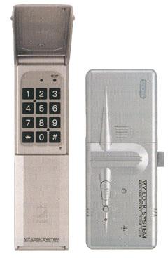 セキュラ 【マイロック VF-10 リモコン1個付属】暗証番号 オートロック 電子錠 電気錠 補助錠 玄関 ドア 無線 後付 防犯 セキュリティー ピッキング対策 デジタルロック ICカード RFID フェリカ マイフェア アイコード ISO-1443A ISO-15693