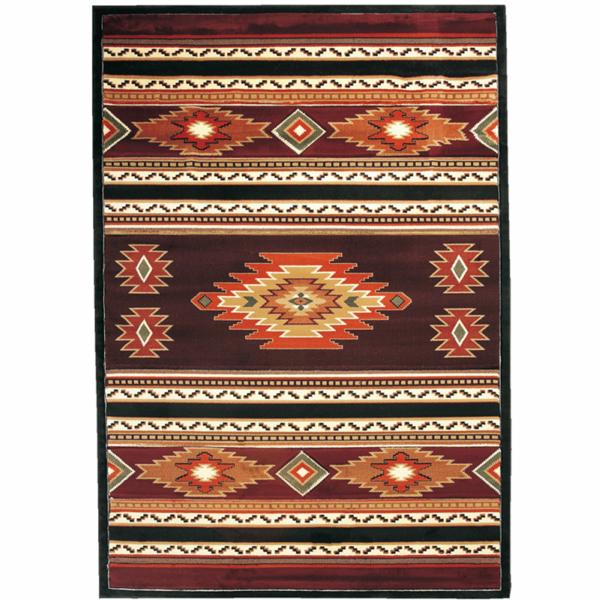 ラグ マット ネイティブ 柄 【サイズ127cm×79cm】 おしゃれ 西海岸 アメリカン ハワイアン メキシカン オルテガ 玄関マット カフェ かっこいい モダン 絨毯 カーぺット もこもこ ふかふか 総柄 民族 フロアマット シンプル ナチュラル 合わせやすい 畳 季節 キュート