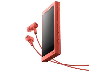NW-A45HN (R) [16GB トワイライトレッド] 通常配送商品