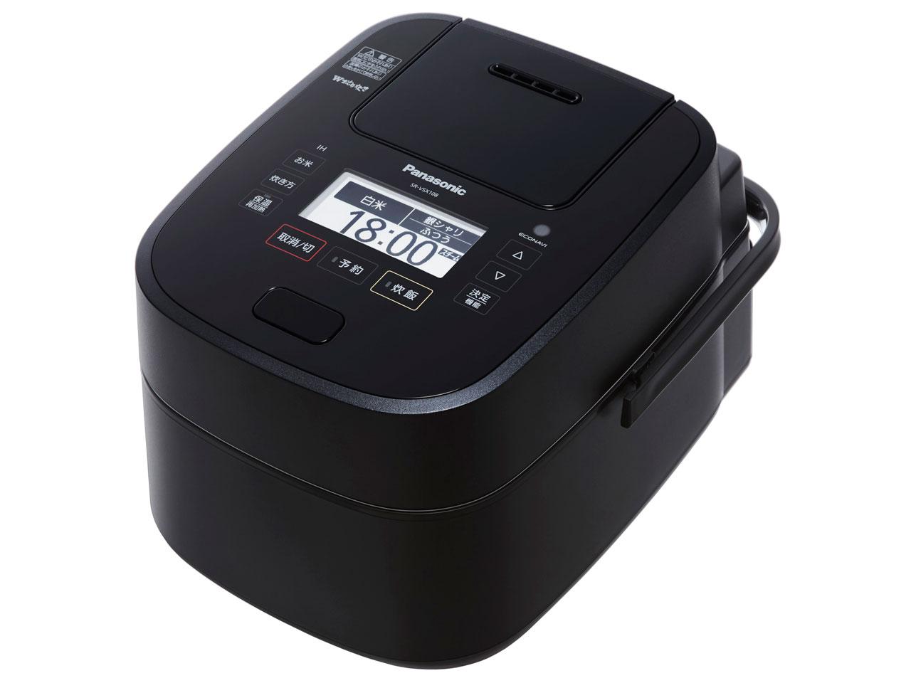 Wおどり炊き SR-VSX108-K [ブラック] 通常配送商品