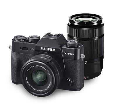 FUJIFILM X-T30 ダブルズームレンズキット [ブラック] 通常配送商品