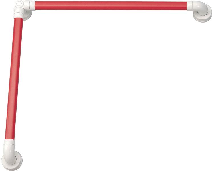 安寿 セーフティーバー L-600×600 / 535-867 レッド アロン化成 1本 JAN4970210417195