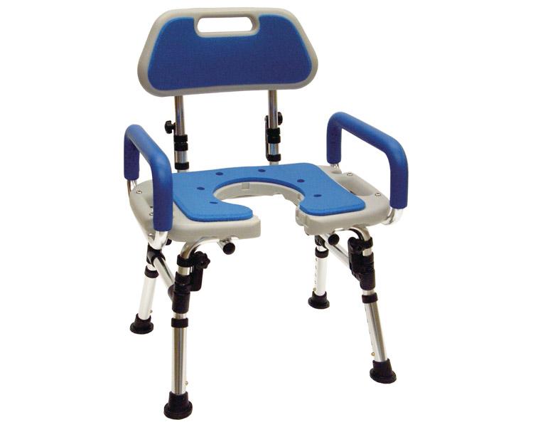 折りたたみ式シャワーチェア 座面U型タイプ / FY9993 アクションジャパン 1台 JAN4560184163237