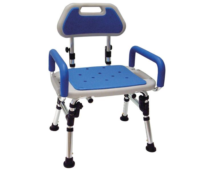 折りたたみ式シャワーチェア 座面角型タイプ / FY9991 アクションジャパン 1台 JAN4560184163244