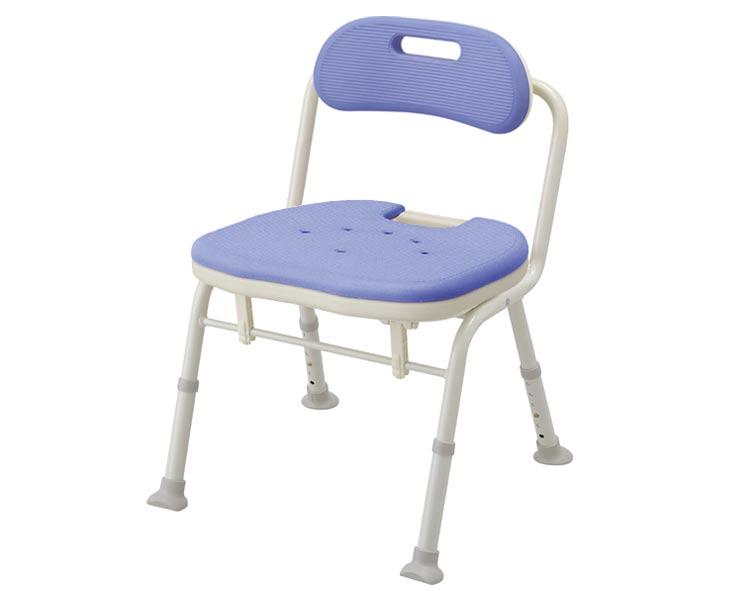安寿 折りたたみシャワーベンチ IN-S (座面角型) / 536-340 ブルー アロン化成 1台 JAN4970210499306