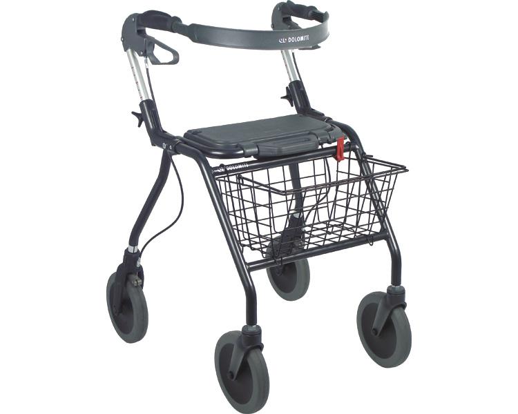 歩行車 オパルブラック 5200 大サイズ / 3080-061 ラックヘルスケア 1台