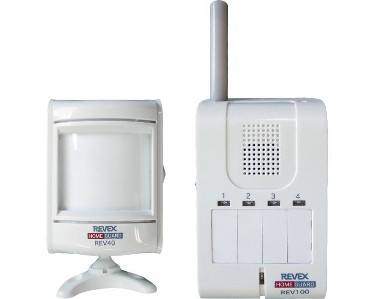 モーションセンサー&携帯受信チャイム / REV140 リーベックス 1セット JAN4943125708054