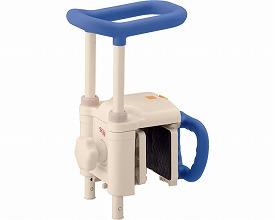 安寿 高さ調節付浴槽手すり UST-130N / 536-613 ブルー アロン化成 1台 JAN4970210838204