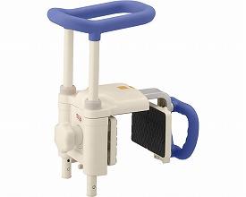 安寿 高さ調節付浴槽手すり UST-200N / 536-615 ブルー アロン化成 1台 JAN4970210838228