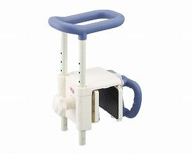 安寿 高さ調節付浴槽手すり UST-130R / 536-617 ブルー アロン化成 1台 JAN4970210842225