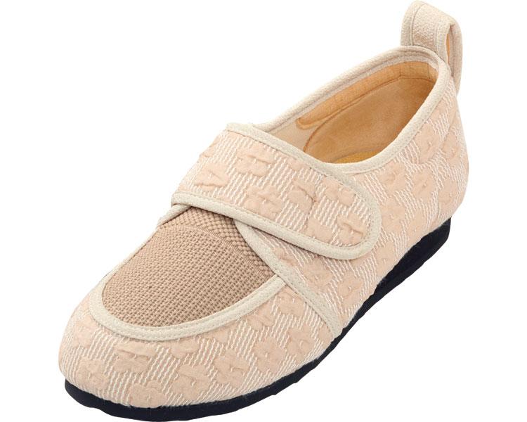 彩彩~ジャガード~ W903 婦人用 / 24.5cm ベージュ マリアンヌ製靴 1足 JAN4534378216283