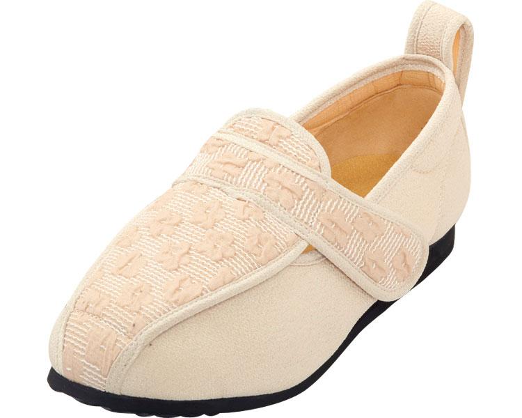 彩彩~ジャガード~ W902 婦人用 / 23.0cm ベージュ マリアンヌ製靴 1足 JAN4534378216016