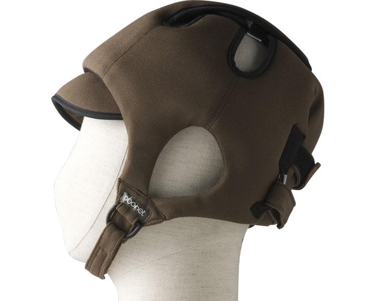 アボネットガードCタイプ(後頭部衝撃吸収重視型) スタンダードN / 2006 ブラウン 特殊衣料 1個 JAN4521573010006