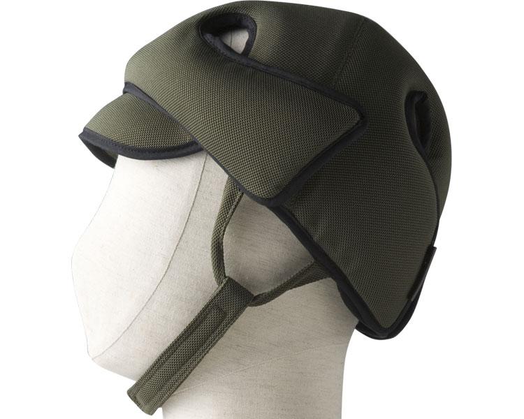 アボネットガードDタイプ(側頭部衝撃吸収重視型) スタンダードN / 2007 オリーブ 特殊衣料 1個 JAN4521573010068