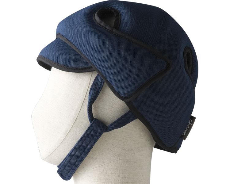 アボネットガードDタイプ(側頭部衝撃吸収重視型) スタンダードN / 2007 ネイビー 特殊衣料 1個 JAN4521573010075