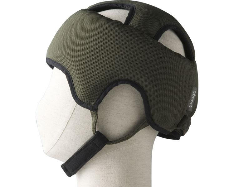 アボネットガードAタイプ(浅型タイプ) スタンダードN / 2072 L オリーブ 特殊衣料 1個 JAN4521573009703