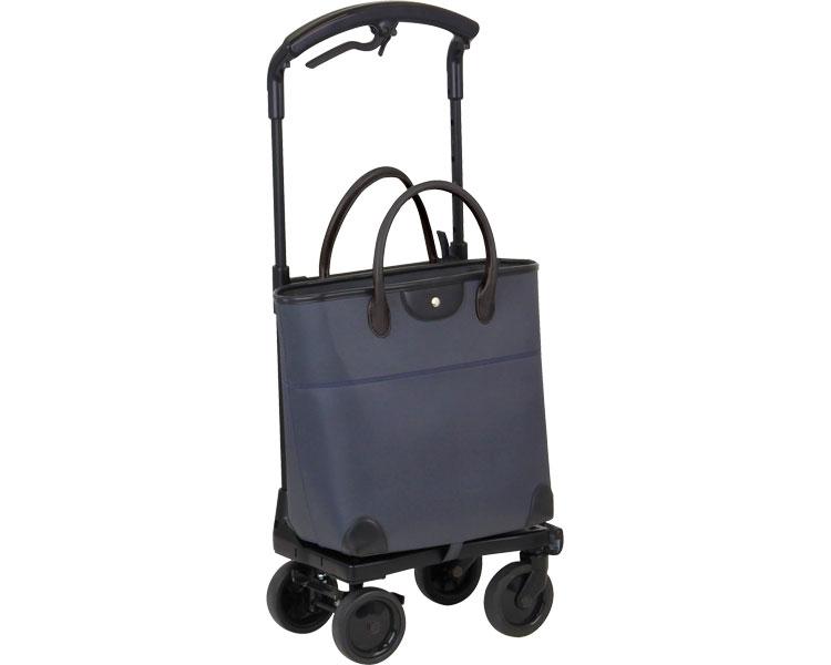 【在庫処分】おとなりカート ブレーキ付トートタイプ / WCC04 ブラック 右用 幸和製作所 1台 JAN4938765007544