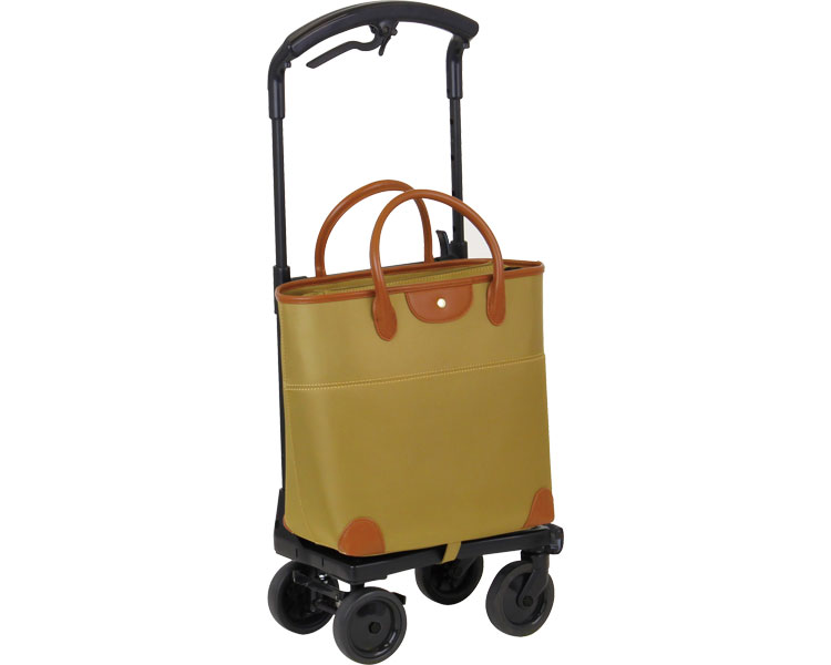【在庫処分】おとなりカート ブレーキ付トートタイプ / WCC04 ベージュ 左用 幸和製作所 1台 JAN4938765007582