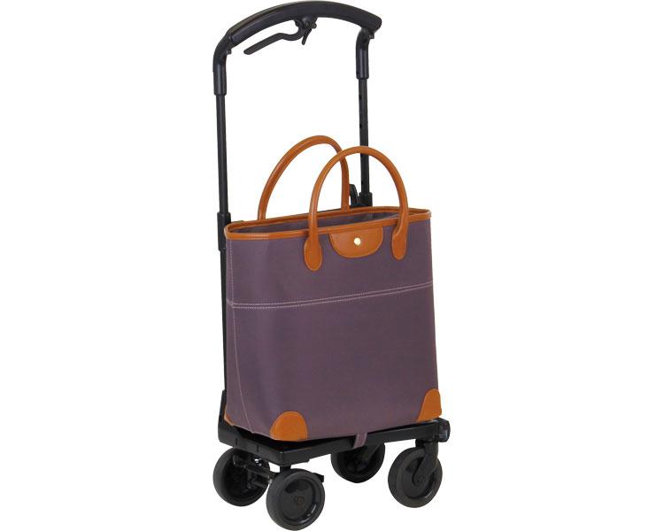 【在庫処分】おとなりカート ブレーキ付トートタイプ / WCC04 ブラウン 左用 幸和製作所 1台 JAN4938765007599