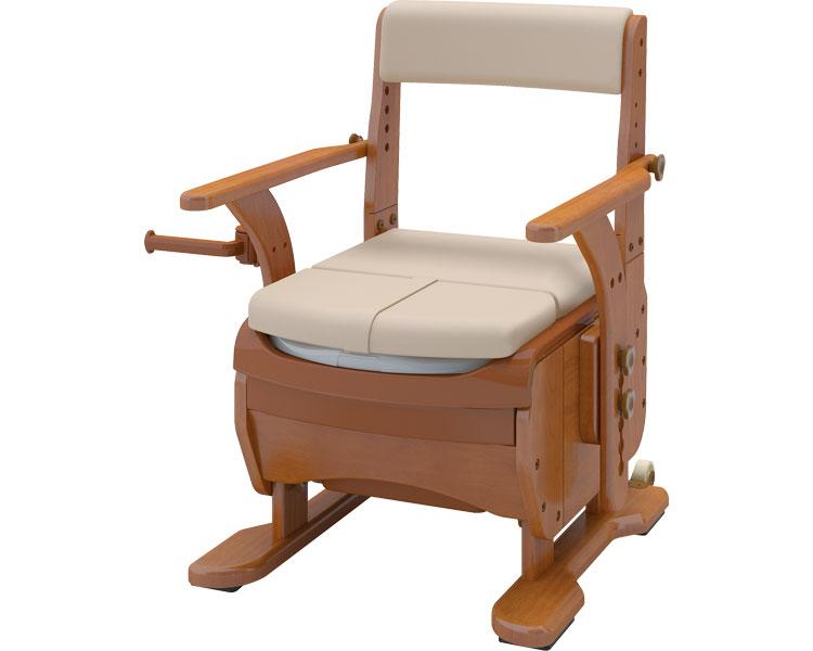 安寿 家具調トイレセレクトR ノーマルワイド / 533-858 暖房便座 アロン化成 1台 JAN4970210854051