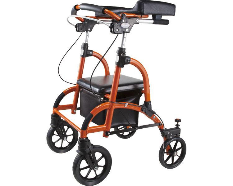歩行車 friend(フレンド) / WF-1 オレンジ ウェルパートナーズ 1台 JAN4580106937517
