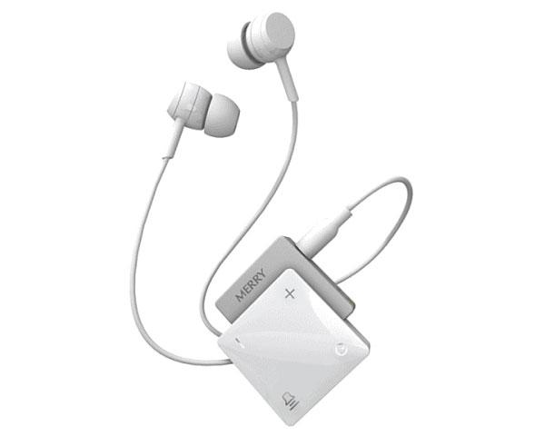 高性能集音器 聞楽(キラク) / ME-300D 白 アメディア 1台 JAN4562365930416