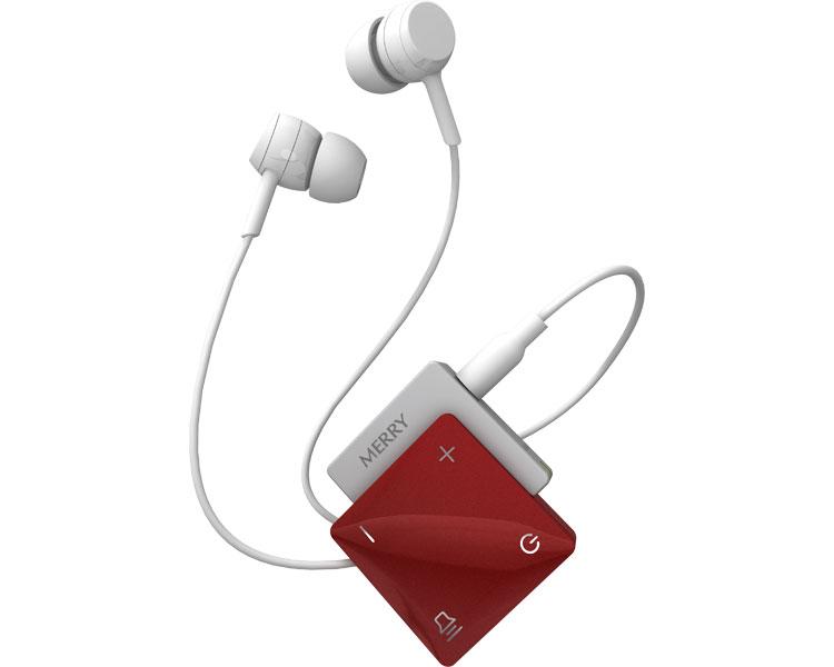 高性能集音器 聞楽(キラク) / ME-300D 赤 アメディア 1台 JAN4562365930409