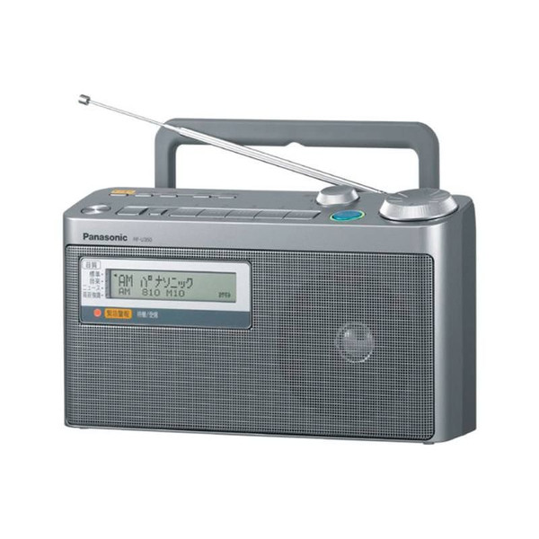 FM緊急警報放送対応FM/AM2バンドラジオ JAN4984824762466