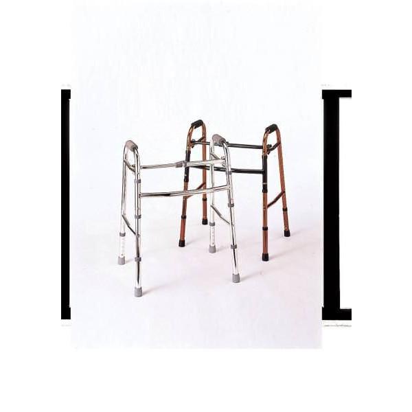 折りたたみ歩行器 シルバー 非 JAN4538833206062