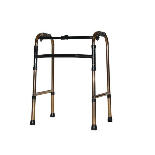 折りたたみ式歩行器 標準タイプ ブロンズ 非