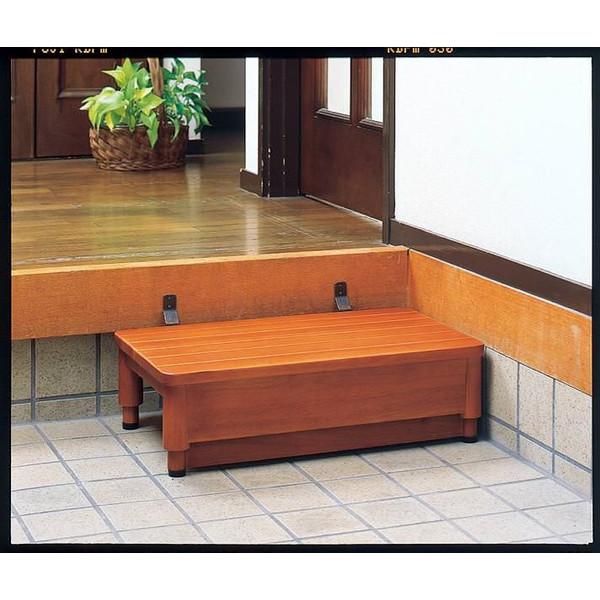 木製玄関踏み台GR 1型 幅60cm JAN4531588004426
