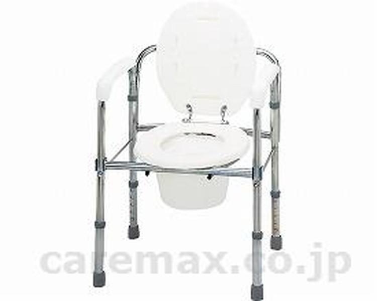 トイレチェア(折りたたみ) / T-8303 テツコーポレーション 1台 JAN4541053402183