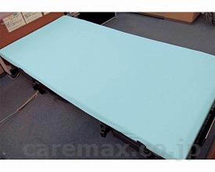 透湿ボックス型全面防水シーツ 幅93cm / 2024 サックス 萬楽 1枚 JAN4571274682644