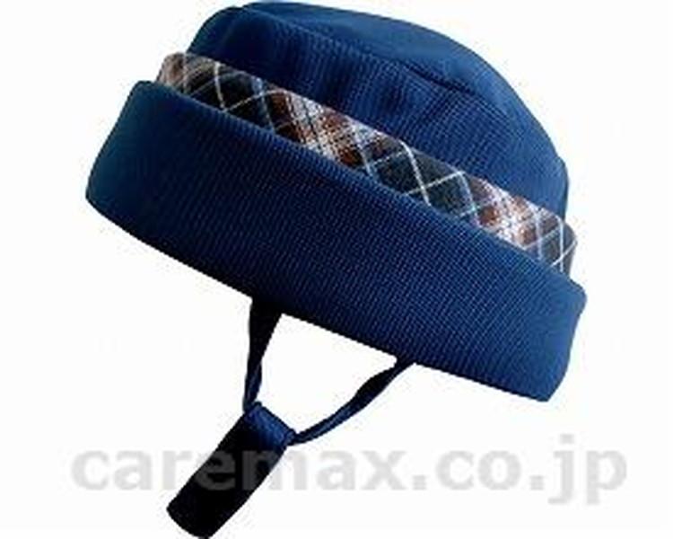 アボネット ガードF(全周囲型) / 2101 ネイビー(青チェック) 特殊衣料 1個 JAN4521573009635