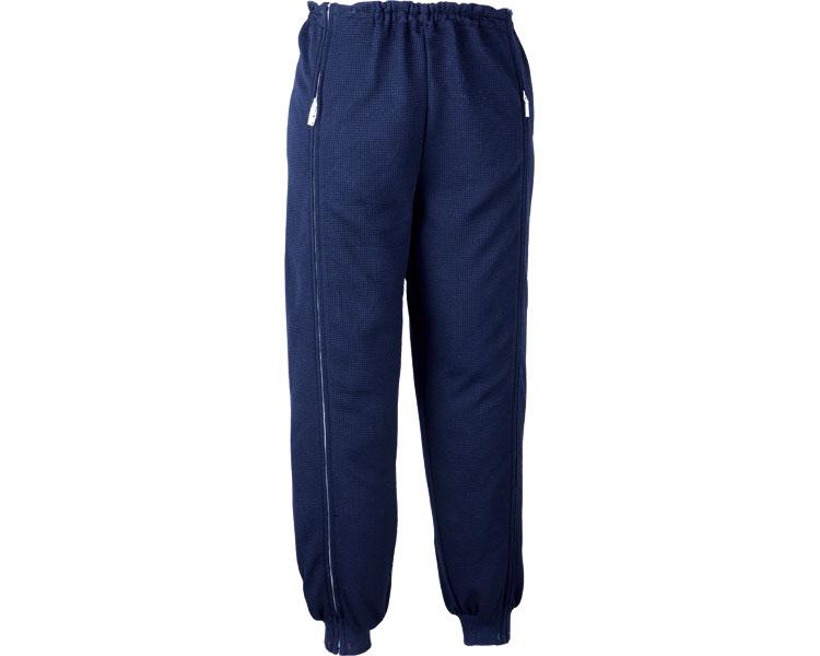 スクエアニット 裾リブ付き全開ズボン LL / 5111 ネイビー エンゼル 1枚 JAN4975520776062