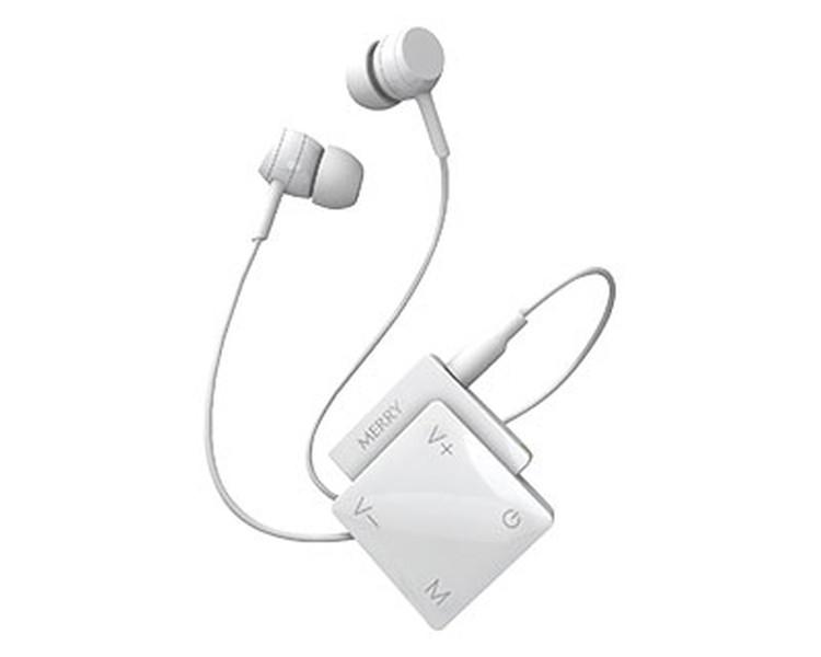 集音器 聞楽(キラク) / ME-200P 白 アメディア 1個 JAN4562365930195