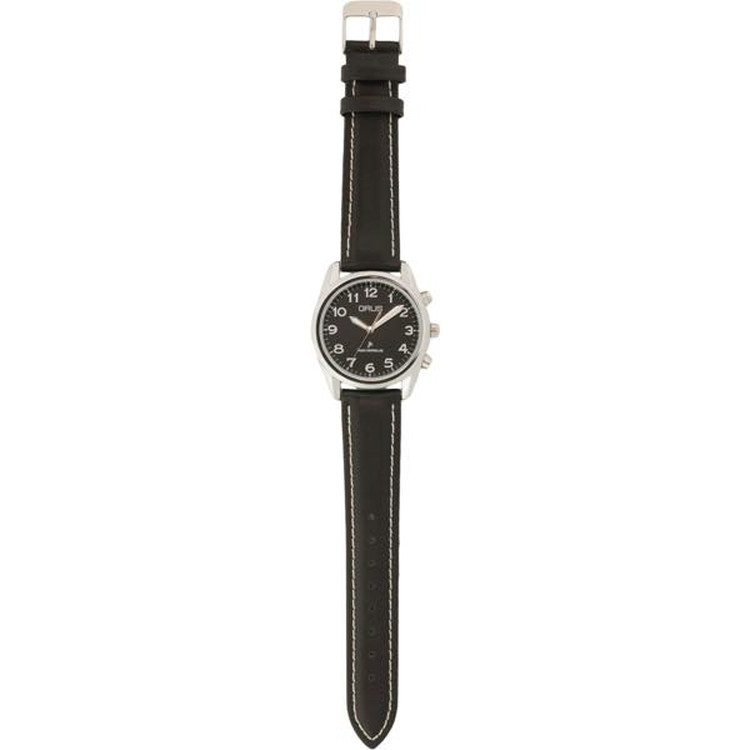 グルス ボイス電波腕時計 ブラック×ブラック JAN4582114308013