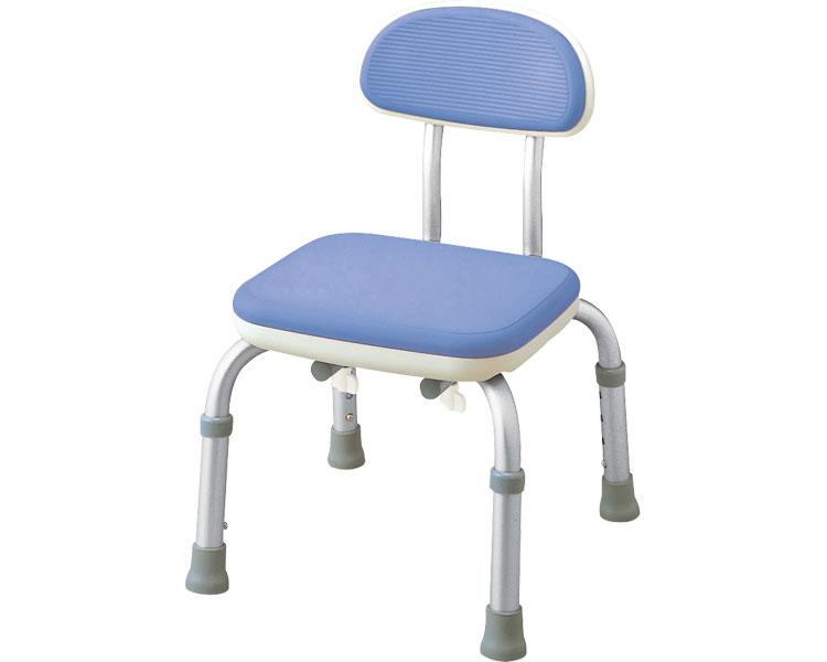 背付シャワーベンチ Mini-S / 536-202 ブルー アロン化成 1台 JAN4970210002629