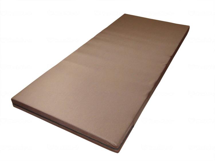 かたわたマットレス 83cm幅 ブラウン 83×191×8 001161 JAN4967991500802