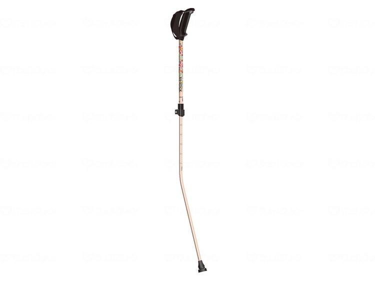 メディカルウォーキングポール R9-STICK 花柄ピンク MWP-100HP JAN4948910914566