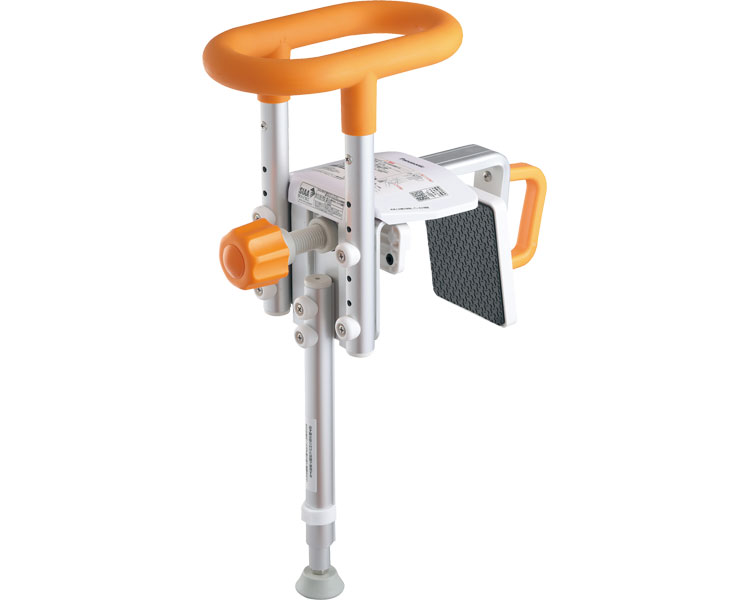 入浴グリップ ユクリア ユニットバス専用コンパクト200脚付 / PN-L12312D オレンジ パナソニック エイジフリー 1台 JAN4549980354155