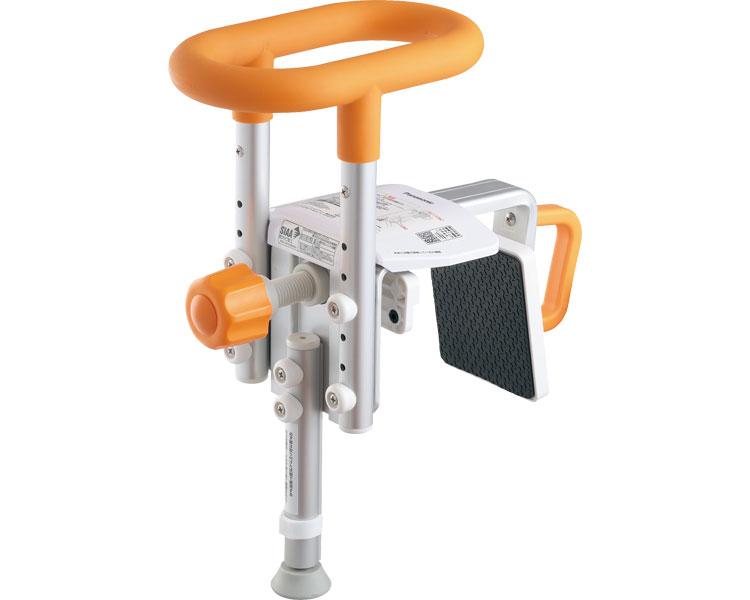 入浴グリップ ユクリア ユニットバス専用コンパクト200脚付S / PN-L12314D オレンジ パナソニック エイジフリー 1台 JAN4549980354216