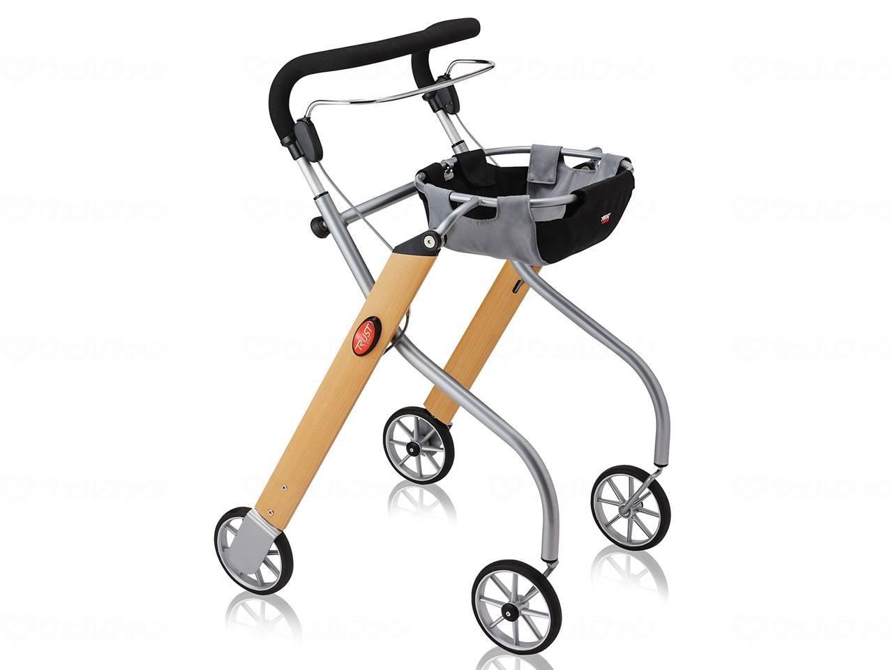 竹虎室内用歩行車レッツゴー ウッドパターン:福祉用具のバリューケア