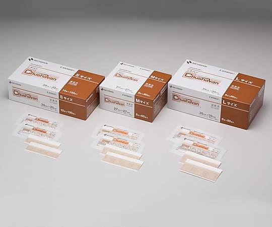 あす楽対応 希少理化学衛生用品 チューシャバン TM 世界の人気ブランド 1000枚入 Sサイズ 1箱 穿刺部被覆保護材 セール特価品
