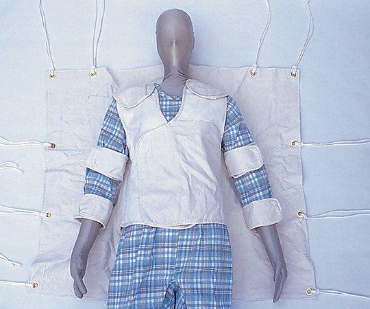 安心と信頼 あす楽対応 希少理化学衛生用品 まもって寝 安息型ベストタイプ 0620 全国一律送料無料 1着 大人用