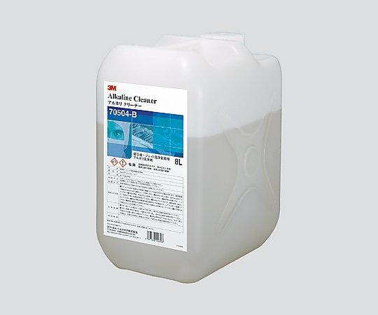 あす楽対応 希少理化学衛生用品 アルカリクリーナー 迅速な対応で商品をお届け致します 70504-B 1本 結婚祝い 8L