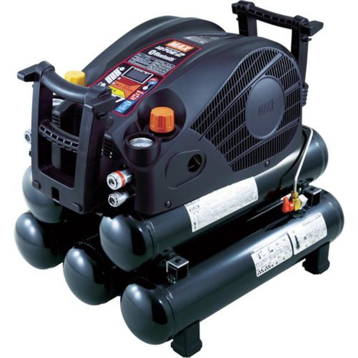 MAX 45気圧スーパーエアコンプレッサ 高圧・常圧専用 ブラック 27Lタンク 1台