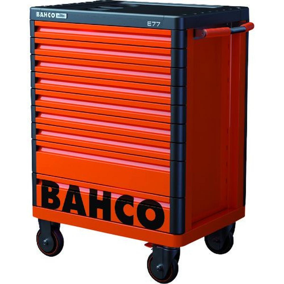 最新作 バーコ BAHCOツールストレージハブ オレンジ9段 1台, スチールラックのキタジマ d150daba